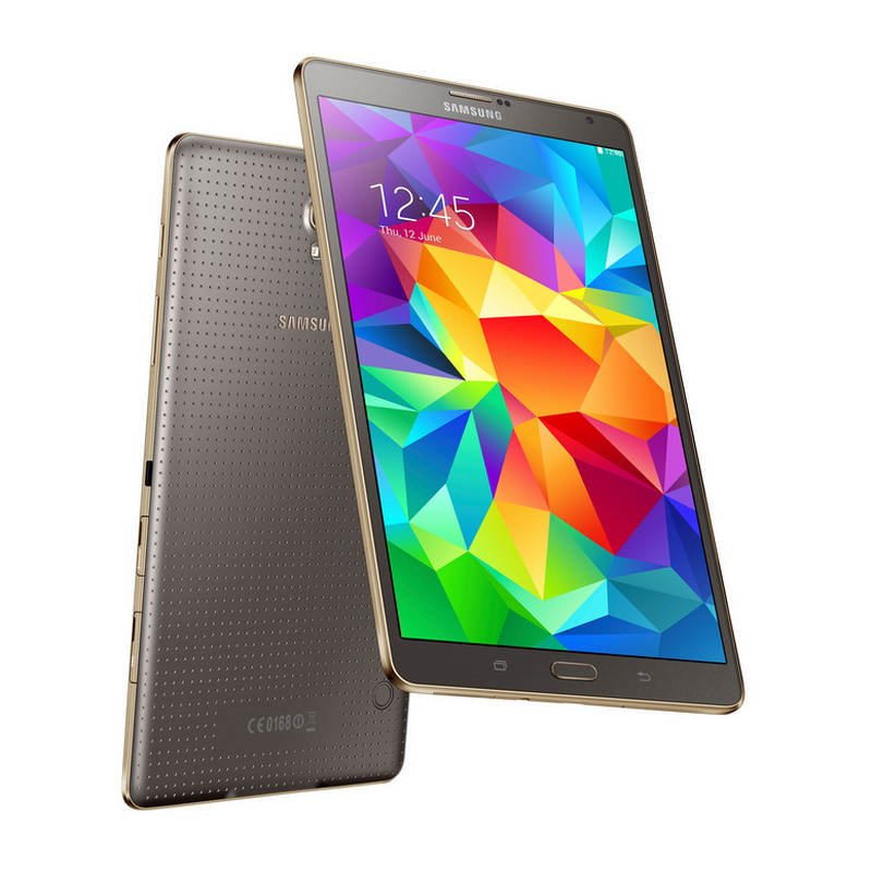 samsung galaxy tab s 8 4 16gb bronce tablet. Black Bedroom Furniture Sets. Home Design Ideas
