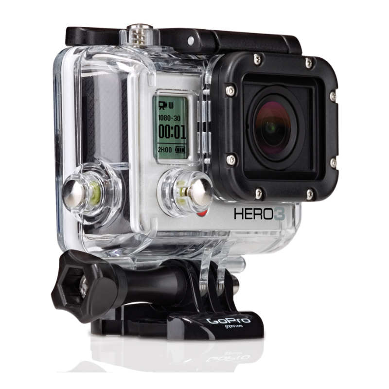 gopro hero 3 silver edition videoc mara. Black Bedroom Furniture Sets. Home Design Ideas